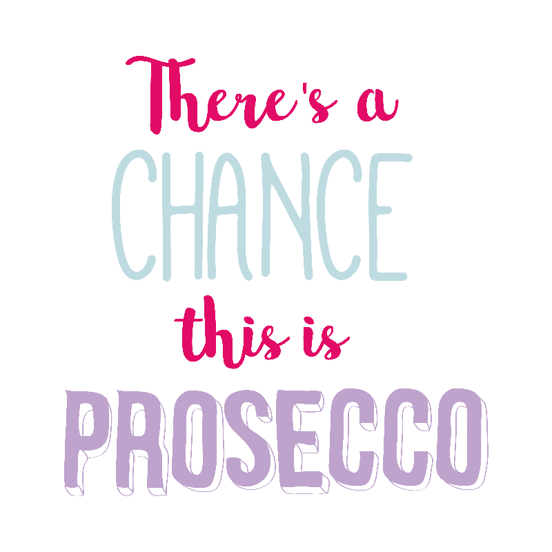 Theres a Chance This is Prosecco