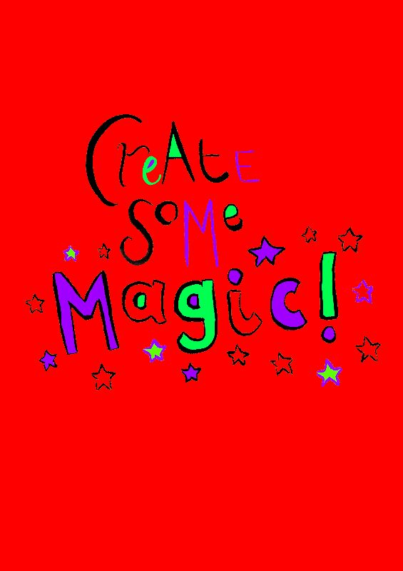 Create Some Magic Red