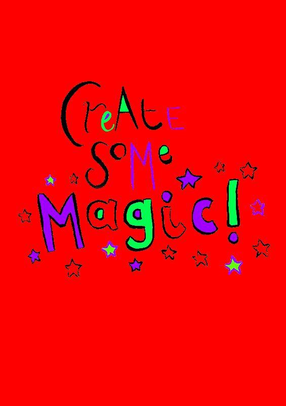 Create Some Magic Red