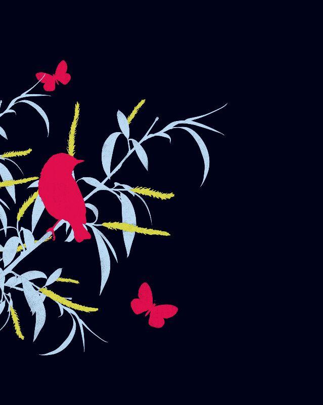 Ebony Floral Design 03