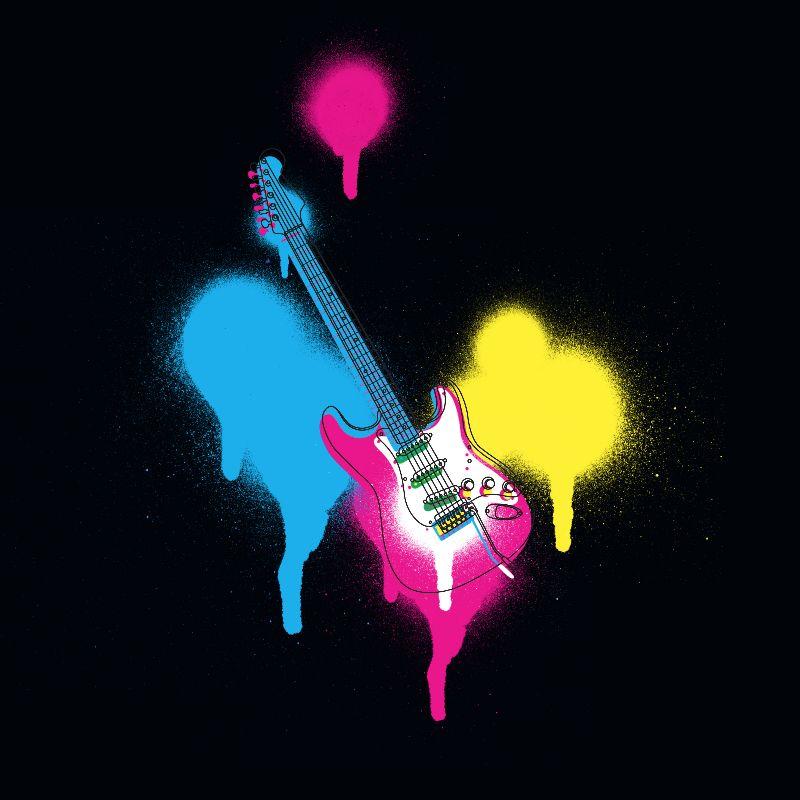Spray Can Electric Guitar