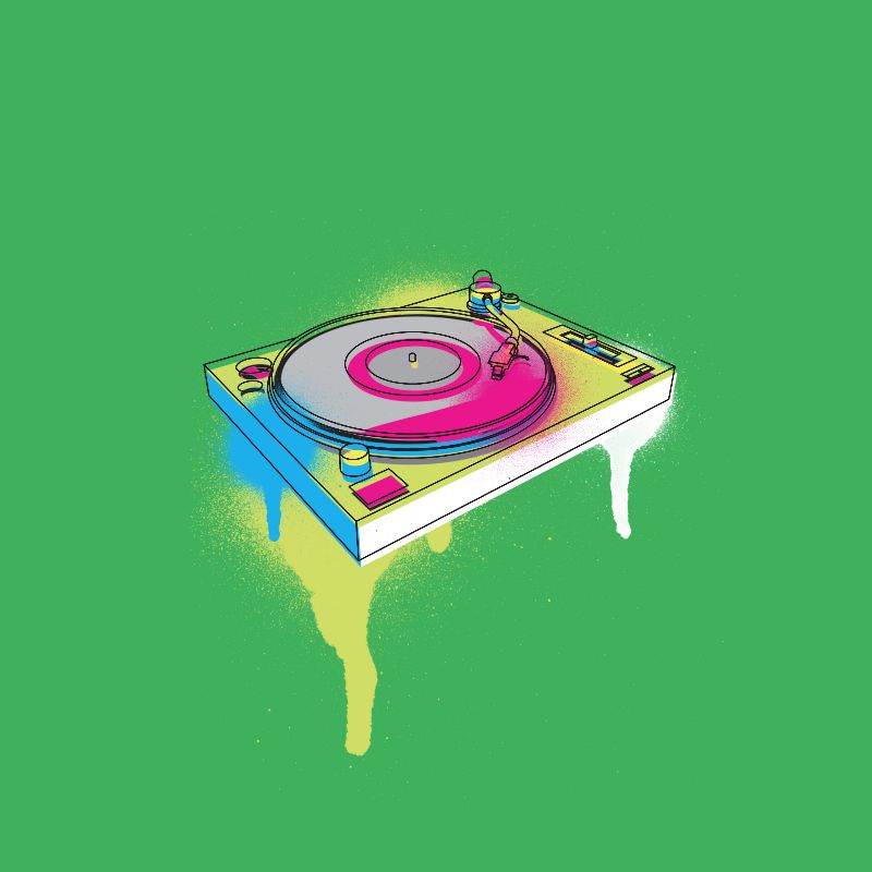 Spray Can Music Decks