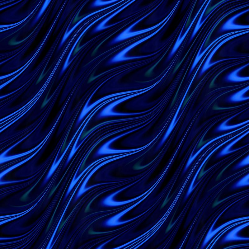 Blue flame pattern
