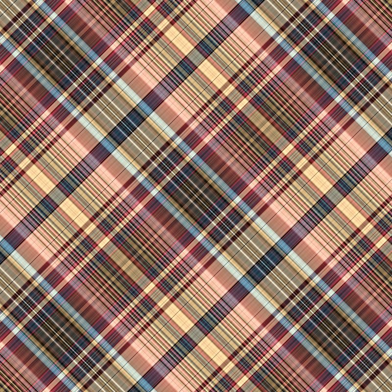 Multicoloured tartan