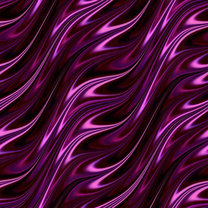 Neon violet flames
