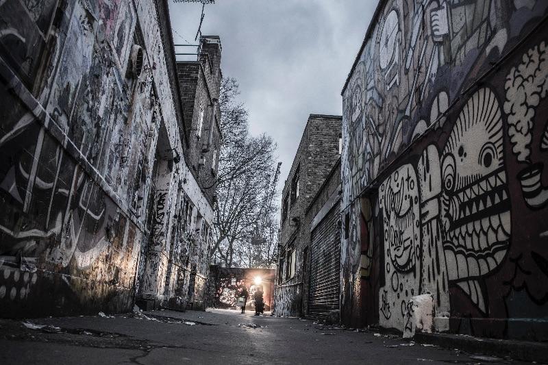 Urban Art Back Street