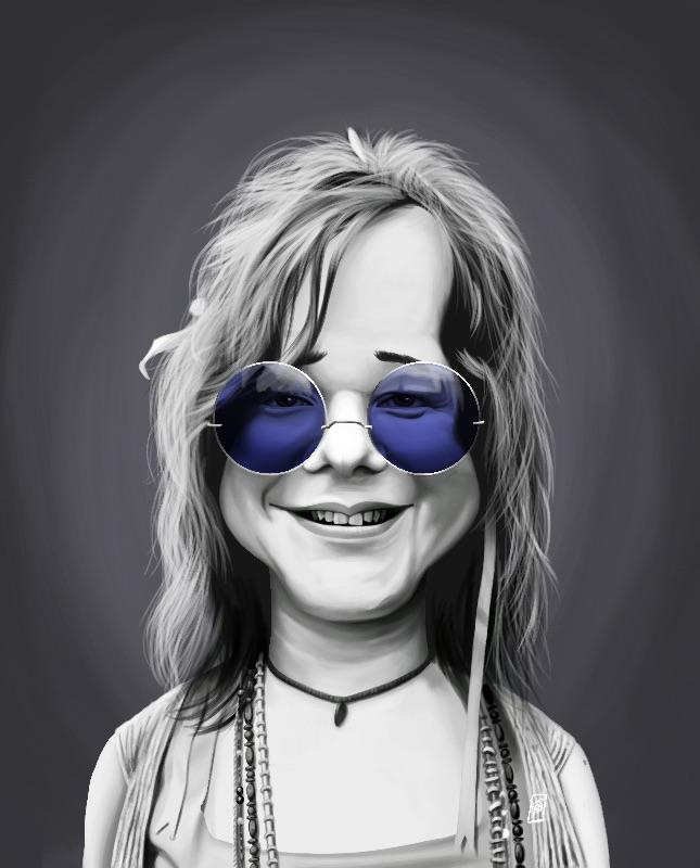 Janis Joplin Steampunk