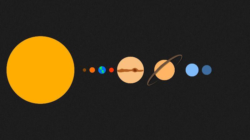 Solar System minimal