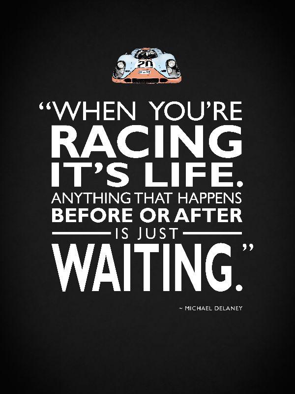 Racing  Its Life