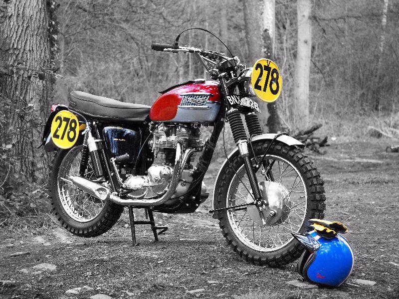 Steve McQueen ISDT Bike