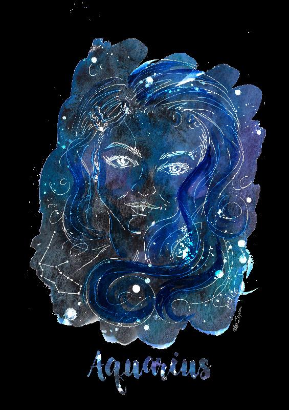 Aquarius Illustration