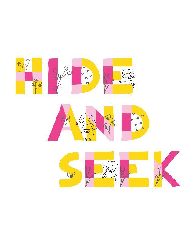 Hide  Seek print