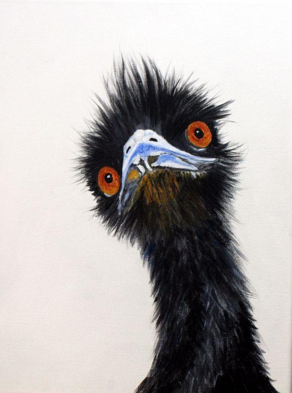 Edward the Erudite Emu
