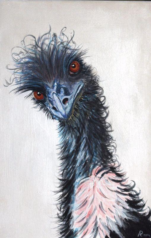 Elsie the emu