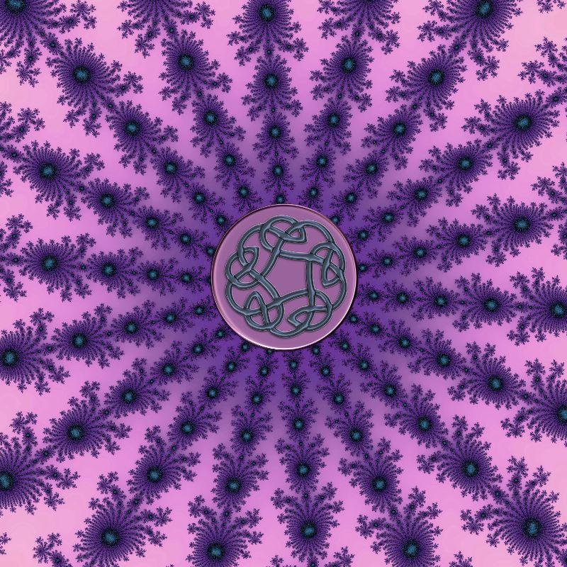Celtic Fractal Mandala