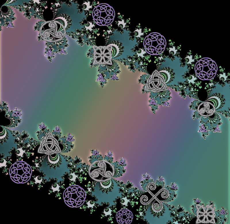 Celtic Rainbow Fractal