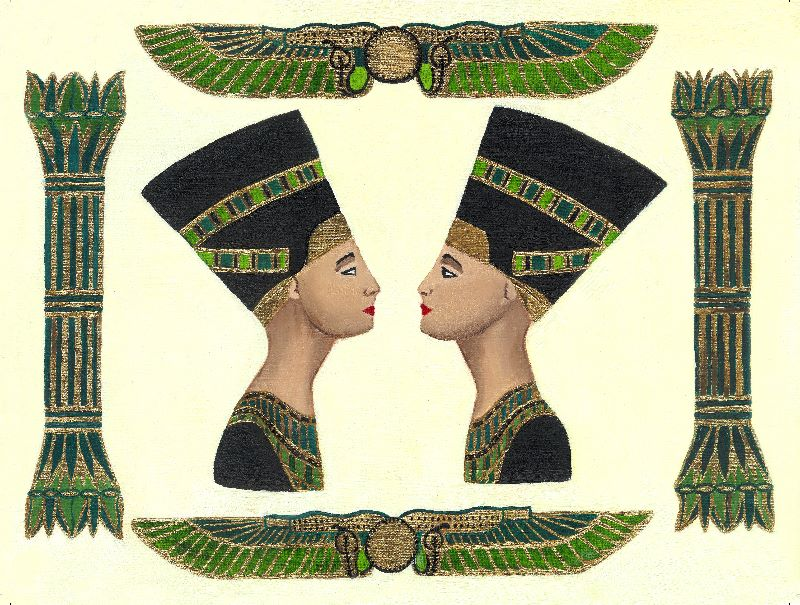 Diptych of Nefertiti