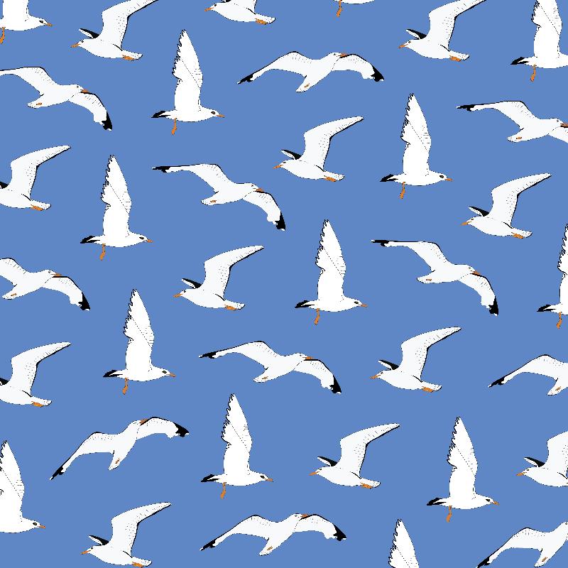 Gathering Seagulls