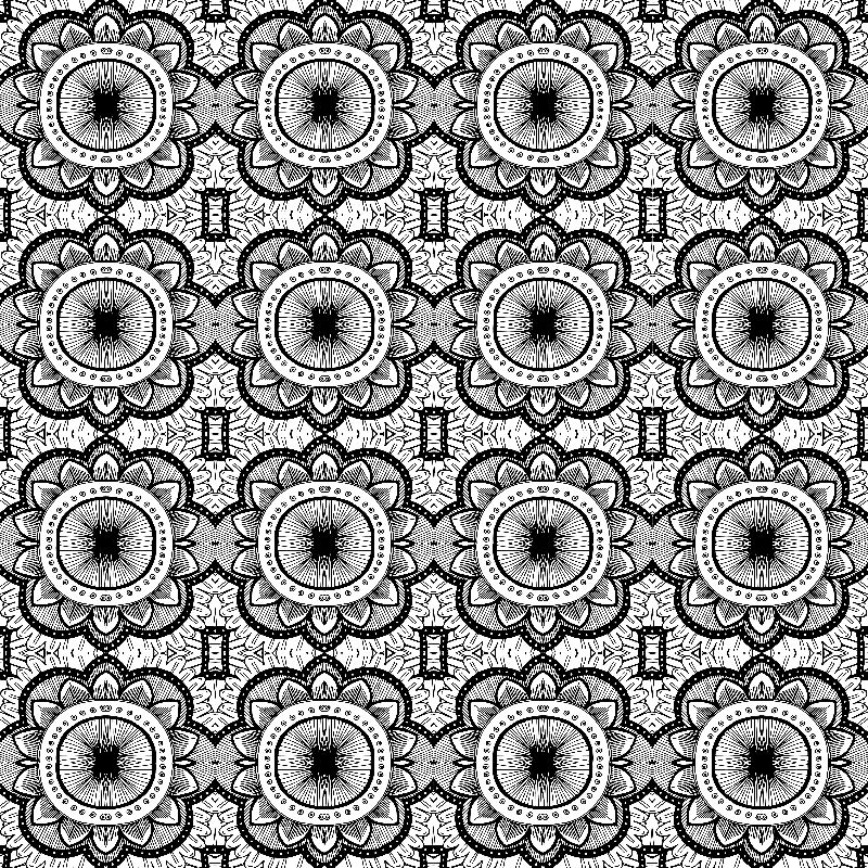 Mandala Tile Pattern