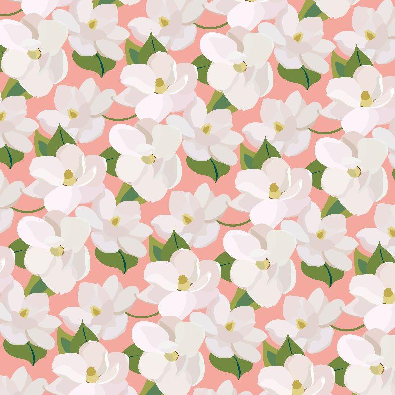 Magnolias pink