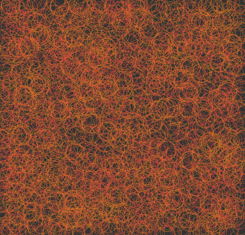Orange  Red Texture 1