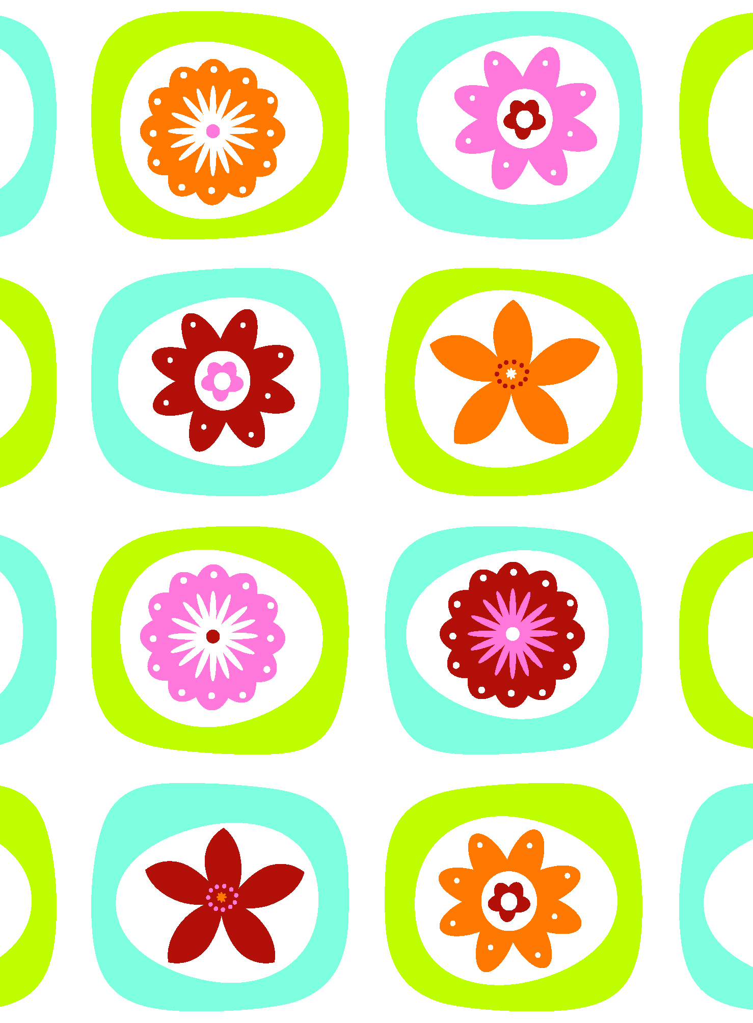 Graphic Flowers