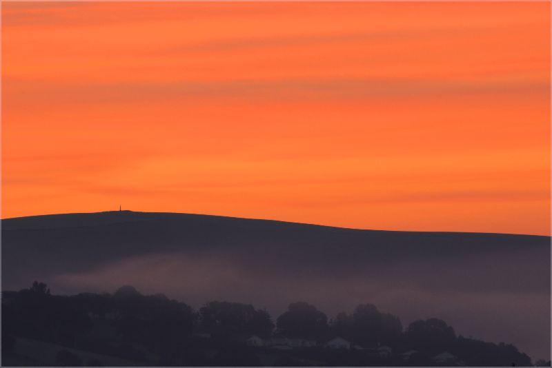 Sunrise over Codden Hill