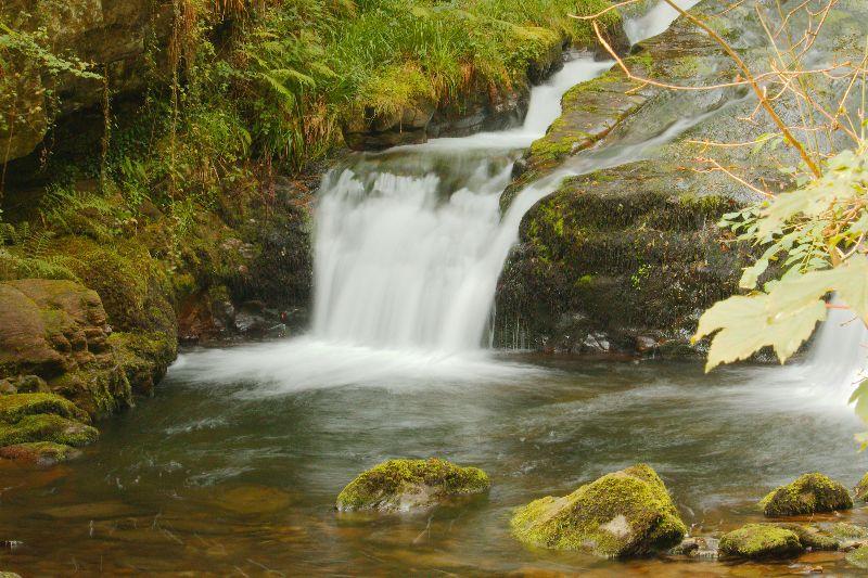 Watersmeet cascade