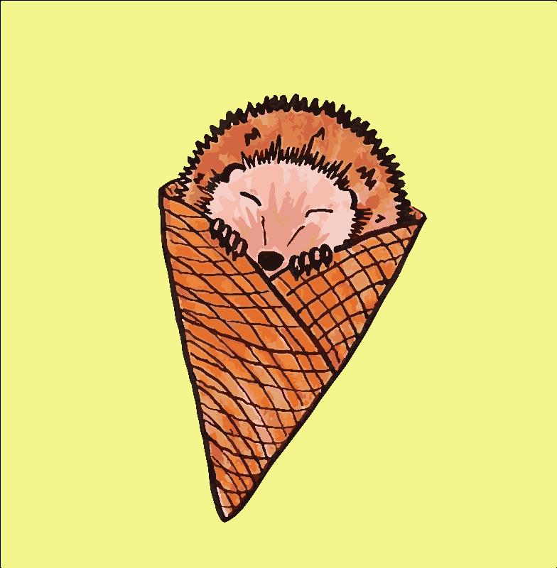 Hedgehog IceCream