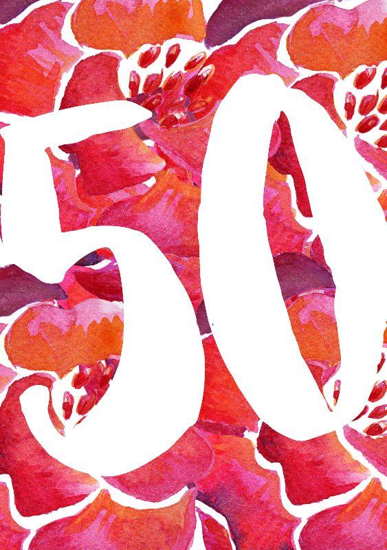 Flowers 50