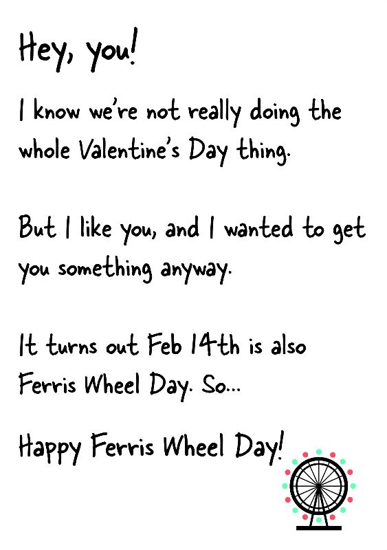 Funny Valentines Day Card