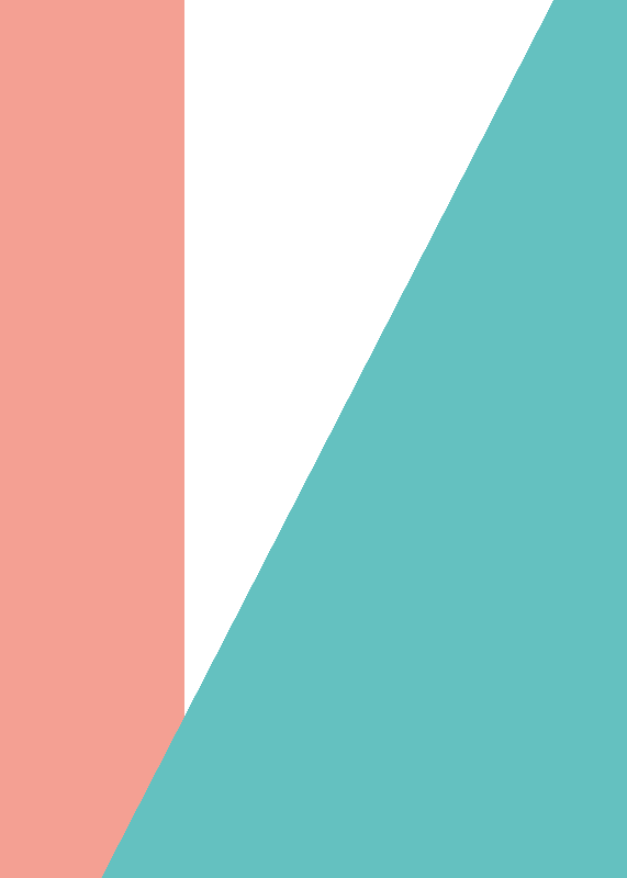 Pink  Teal Colour Bloc