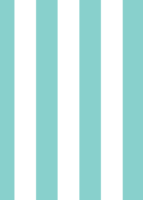 Teal Stripes