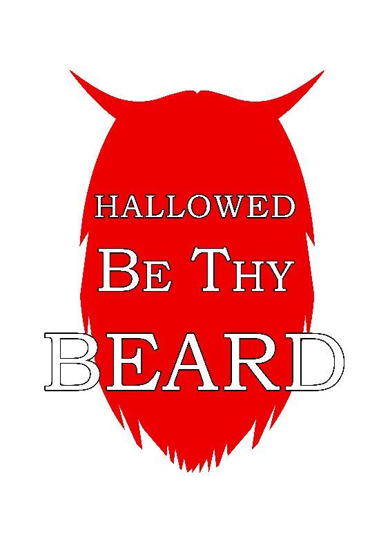 Hallowed Beard Blanc