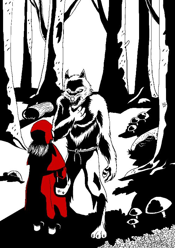 Little Red and the Wolf