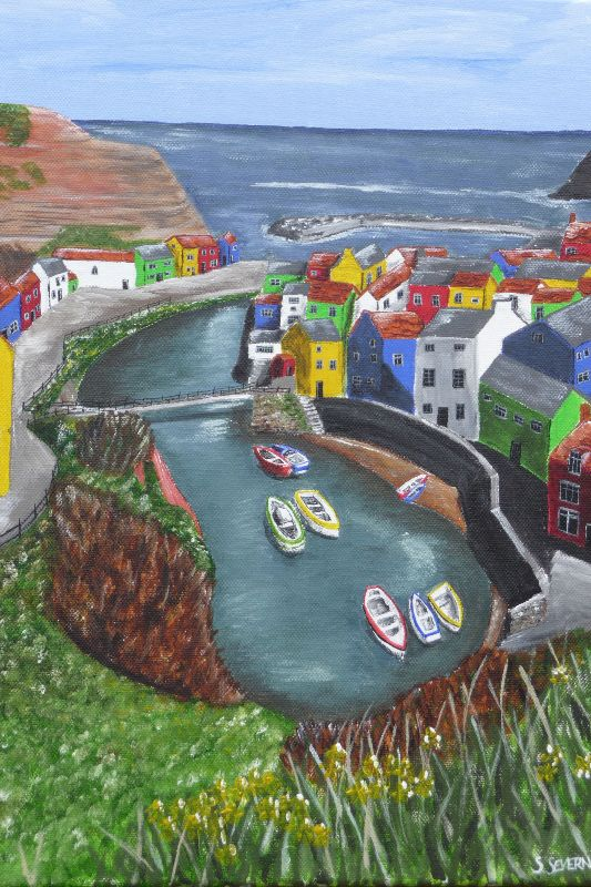 Spring in Staithes