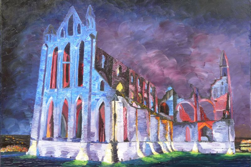 Whitby Abbey Illumination