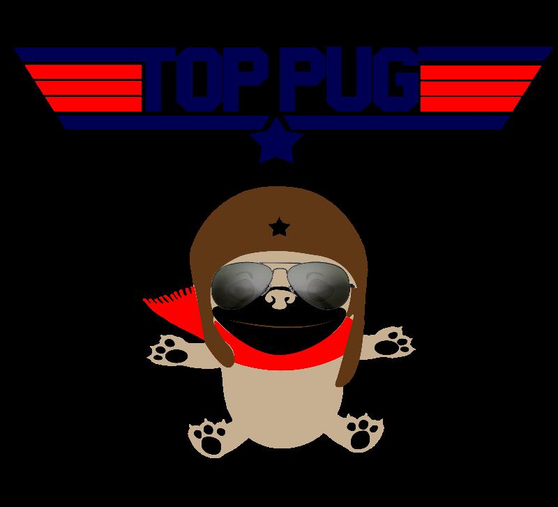 Top Pug