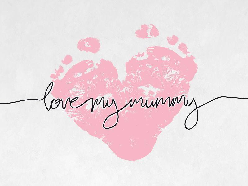 Love my Mummy in Pink