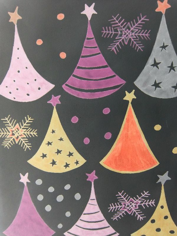 Retro Christmastrees
