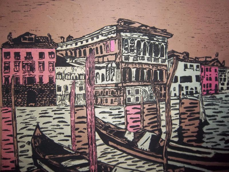 Venice in Collage