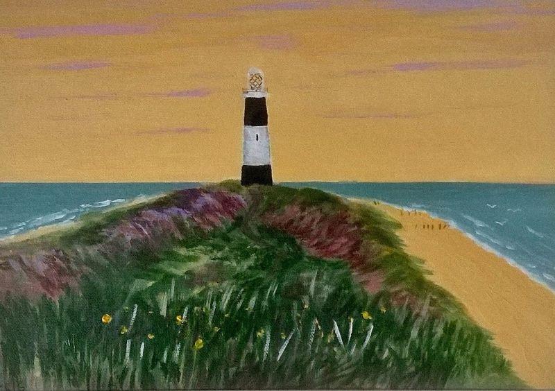 Spurn Point lighthouse 2