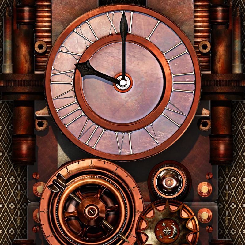 Steampunk Timepiece 1
