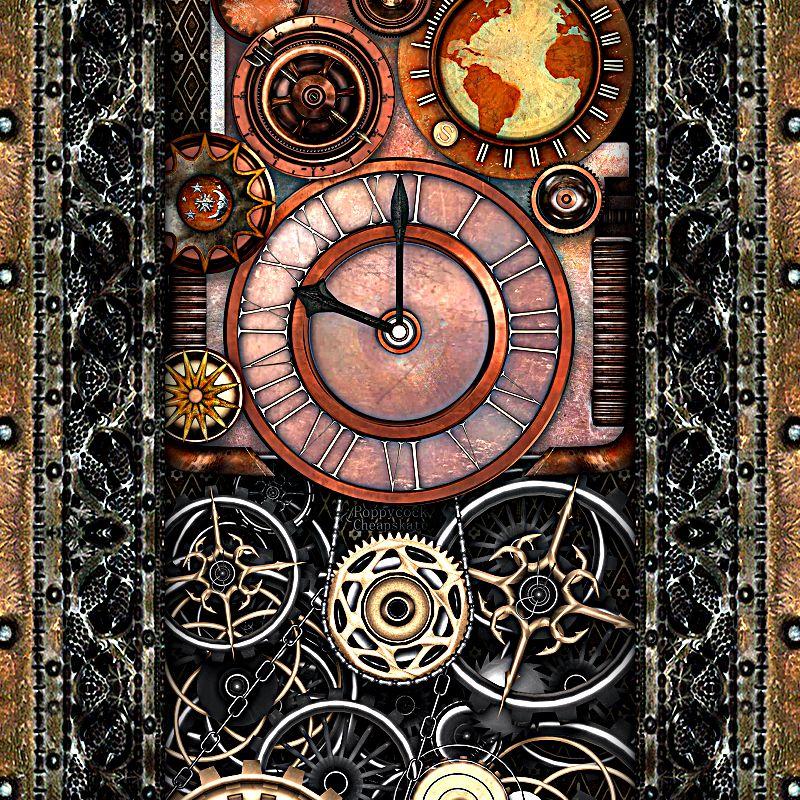 Steampunk Timepiece 2B