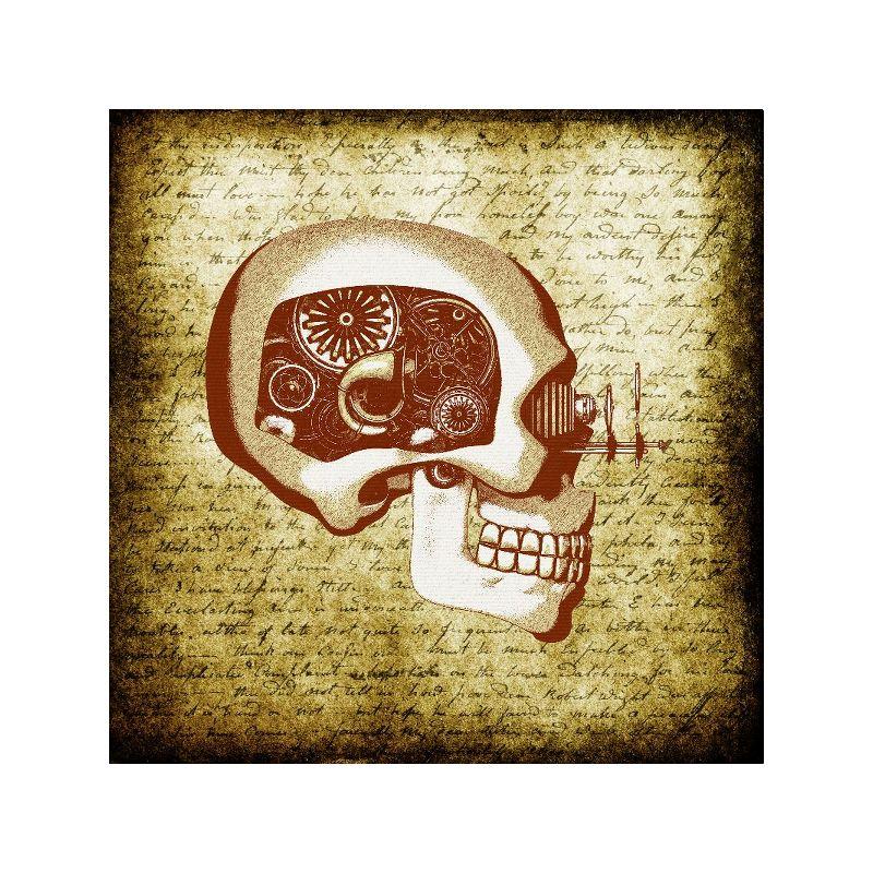 Steampunk Vintage Skull