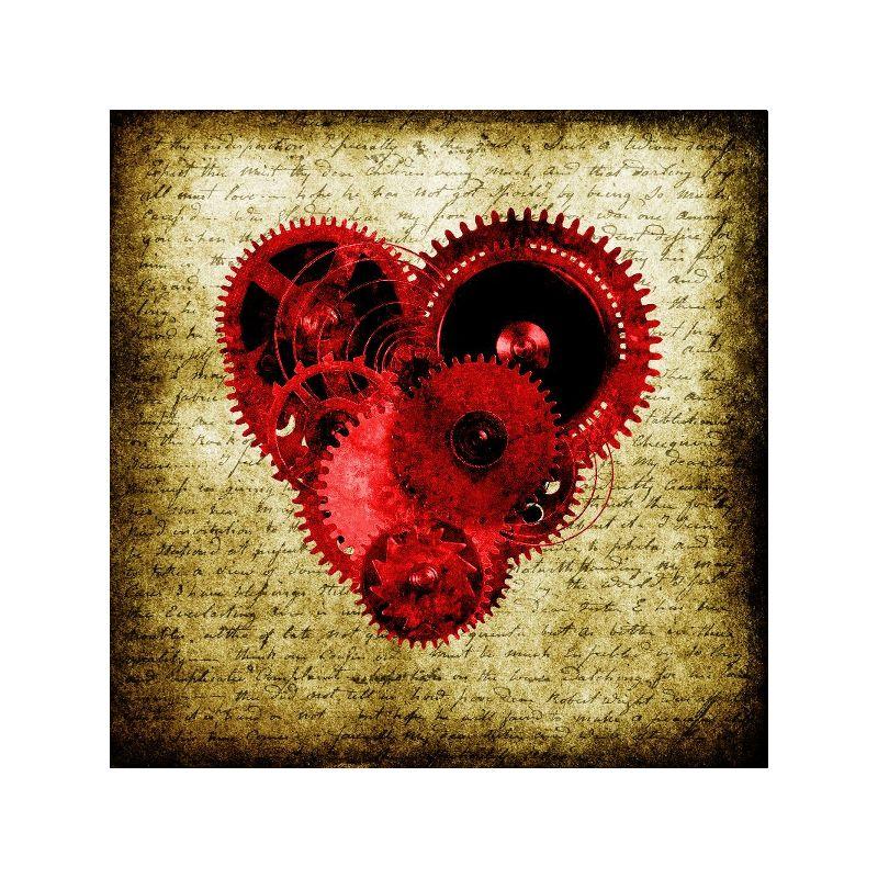 Vintage Steampunk Heart