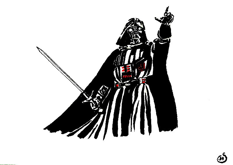Medieval Darth Vader