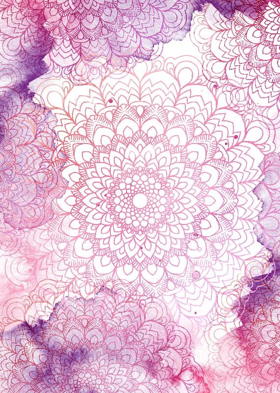 Mandala Watercolor
