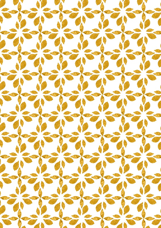 golden leaves geometric