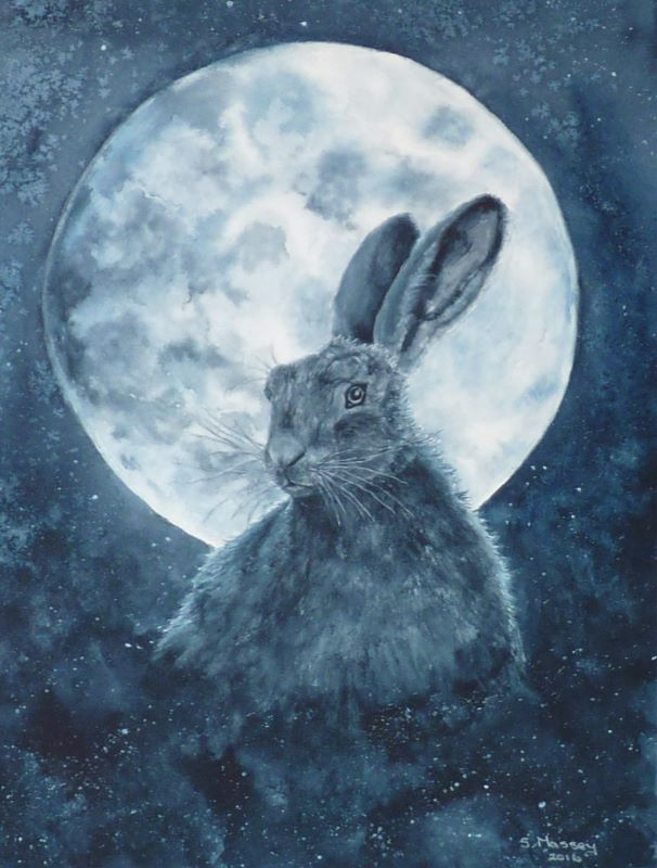 Moonlit Hare